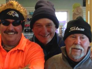 1st place team - Tom Vincenti, Bob Kern, Homer Welch