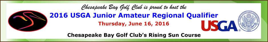 USGA Junior Amateur Regional Qualifier at CBGC June 16, 2016