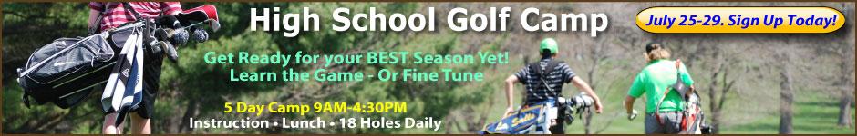 High School Golf Performance Camp