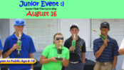 Junior Club Championship - Junior Golf Event