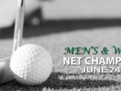 Men's and Women's Net Championship June 24-25 at Chesapeake Bay Golf Club