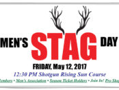 Men's Stag Day! Friday, May 12, 2017.