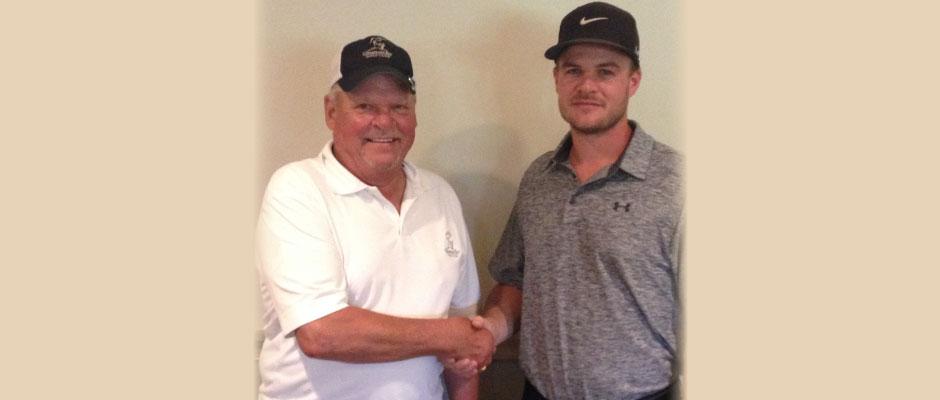 Big 4 Low Gross Winners: Frank Orbin and Matt Russell.