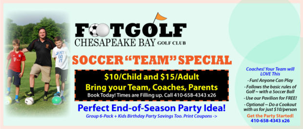 Soccer Team FootGolf Special Offer
