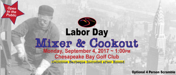 2017 Labor Day Scramble and Cookout