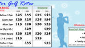 Winter Golf Rates, Off Season Golf Rates