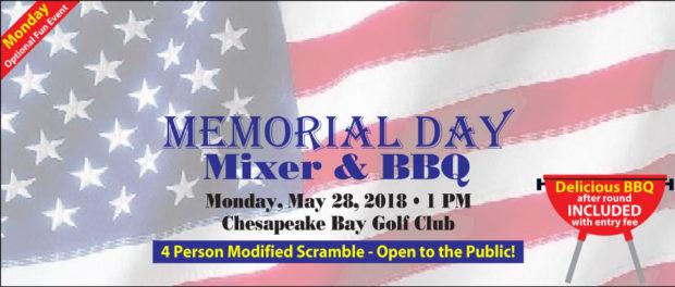 Memorial Day Mixer Banner