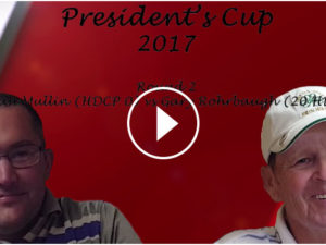 Mullin vs Rohrbaugh President's Cup video recap