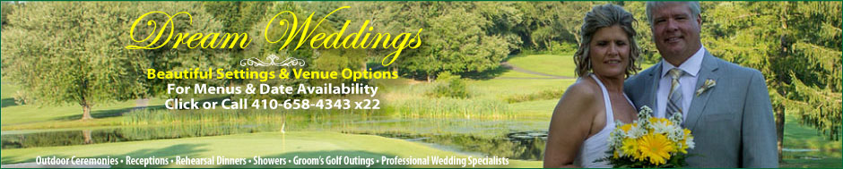 Wedding Venue, Wedding Planning at Chesapeake Bay Golf Club