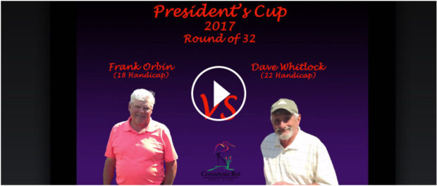 President's Cup Video - Frank Orbin vs Dave Whitlock