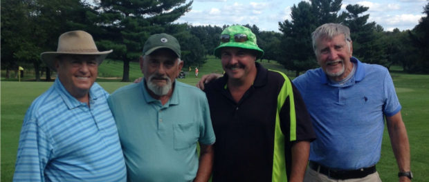 Men's Fall Member-Member Tournament Winners