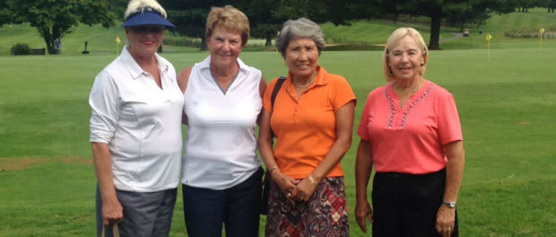 Ladies Member Guest Winners