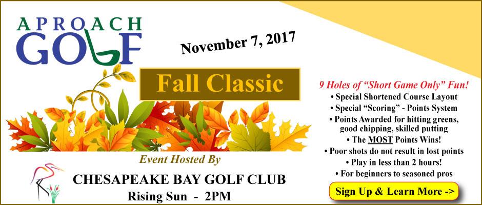 APROach Golf Fall Classic November 7, 2017