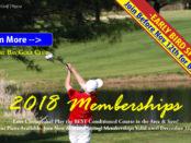2018 Golf Membership Drive