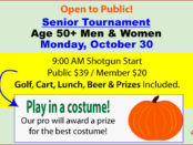 October 30 Senior Tournament