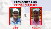 President's Cup Final Joe Scott vs Jim Weinzetl