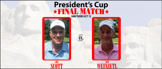 President's Cup Final Joe Scott vs Jim Weinzetl