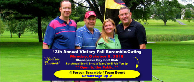 Victory Fall Scramble Golf Outing
