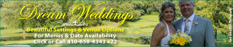 Wedding Receptions, Wedding Venue at Chesapeake Bay Golf Club