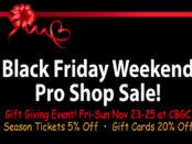 Black Friday Shop Sale at Chesapeake Bay Golf Club