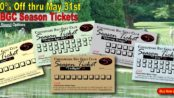 Sale! Chesapeake Bay Golf Club Season Tickets