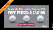 Special Holiday Offer FREE Personalization Titleist
