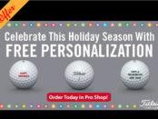 Titleist FREE Personalization