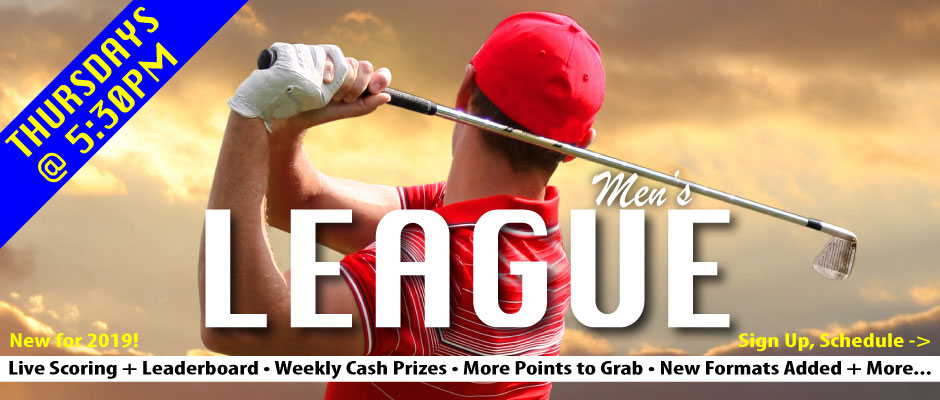 Men's Golf League - Thursdays at Chesapeake Bay Golf Club