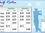 Winter Golf Rates