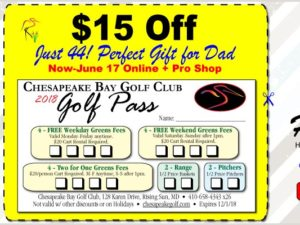 Chesapeake Bay Golf Club Golf Pass