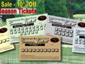 CBGC Season Tickets - Father's Day Sale