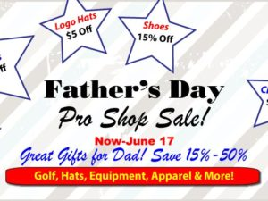 Father's Day Pro Shop Sale 15%-50% Off