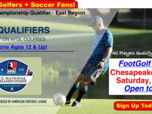 AFGL FootGolf Tournament