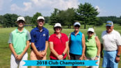 Chesapeake Bay Golf Club 2018 Club Champions