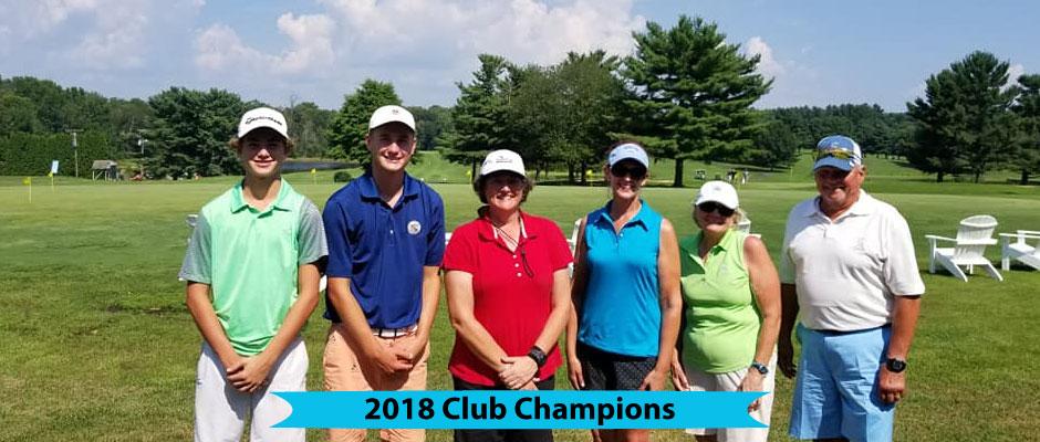 Chesapeake Bay Golf Club 2018 Club Champions