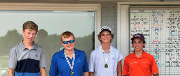 2018 Junior Club Champion Evan Barbin