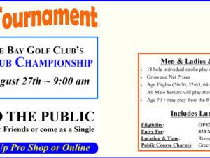 2018 Senior Club Championship