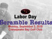 Labor Day Scramble Results