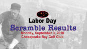 Labor Day Scramble Results