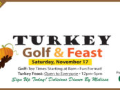 Turkey Golf + Feast November 17
