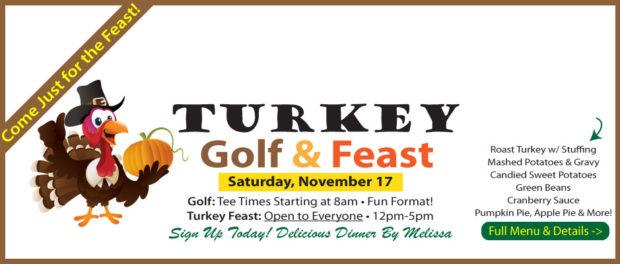 Turkey Golf + Feast November 17