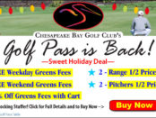 CBGC 2019 Golf Pass is Back