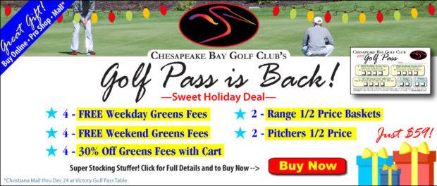 CBGC 2019 Golf Pass is Back