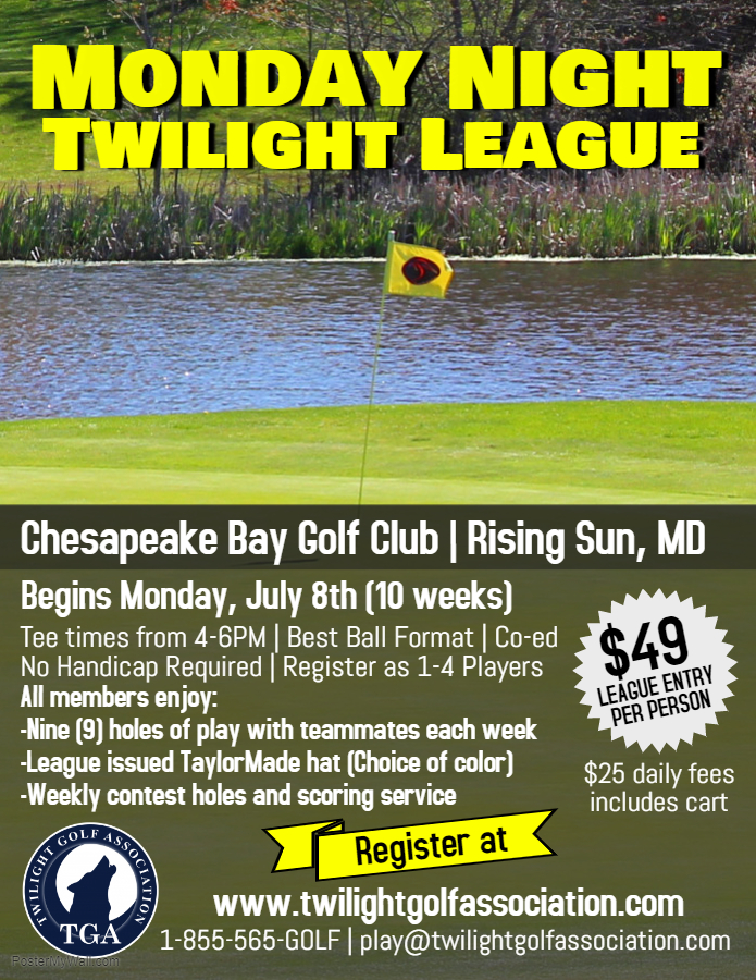 Monday Night Twilight Golf League