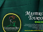 Masters Jacket Golf Tournament