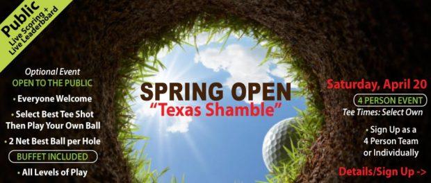 Spring Open Texas Shamble