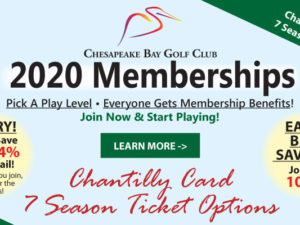 2020 Golf Memberships